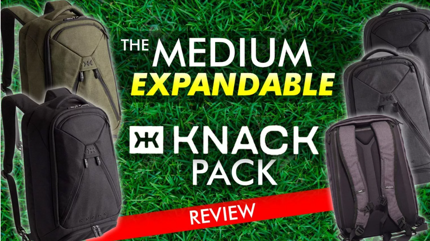 Review of the Laptop Knack Pack Backpack