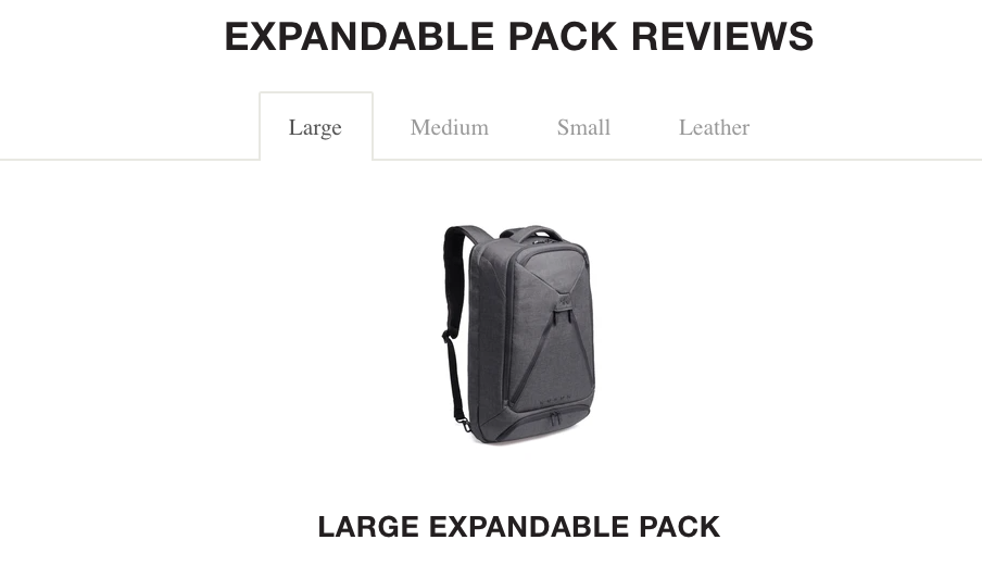 Review of the Large Knack Pack Laptop Backpack