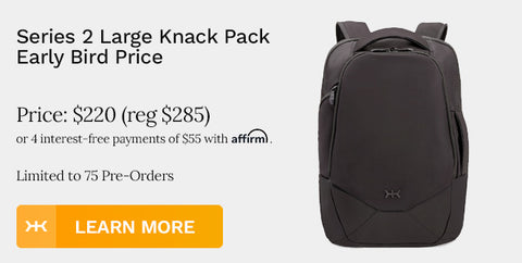Knack Pack Large Expandable Backpack