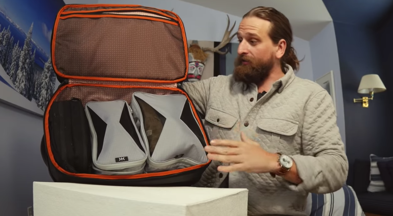 Chase Reeves Bagworks Review of Knack Bags Packing Cubes