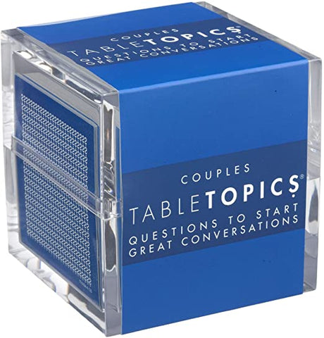 Adult Stocking Stuffer Ideas - TABLETOPICS Couples: Questions to Start Great Conversations