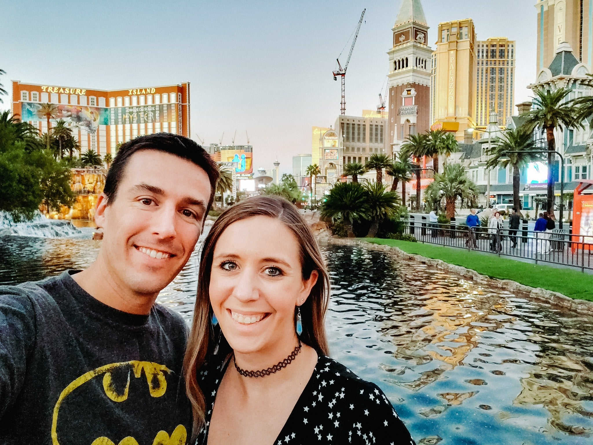 Travel bloggers Walter and Heather in Las Vegas, NV