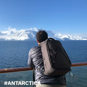 Kevin taking a break from the startup world to visit Antarctica with his Knack Pack