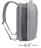 Large Knack Backpack Expanded 37 Liters