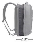 Medium Knack Backpack Expanded 31 Liters