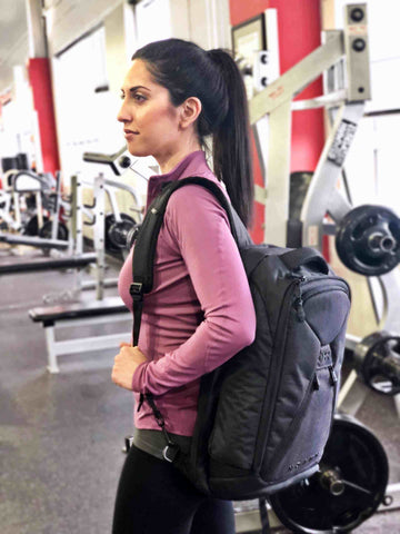 Busy mom reviews the Knack Pack as a diaper bag and gym bag