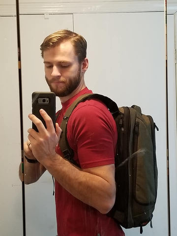 Professional backpack for teachers