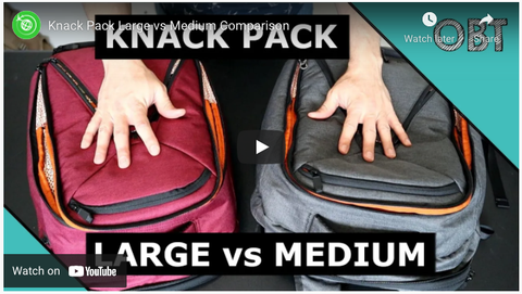 Compare Knack Pack Sizes