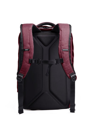 Padded straps for business travel backpack