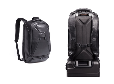 Expandable Laptop Backpack in Premium Real Leather