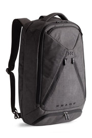 Knack large backpack in grey colour. Unexpanded for day use
