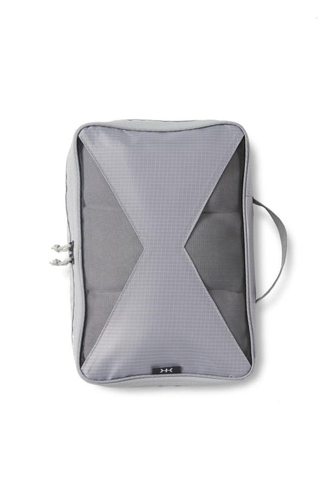 Knack packing cubes are Lightweight, durable body fabric with see-through mesh panels