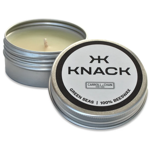 Knack Green Seas Travel Candle