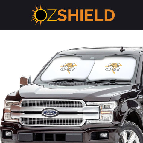 OzShield Extra Large Windshield Sun Shade