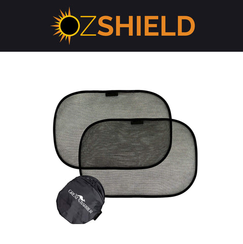 Side OzShield Car Window Shades (2 Pack)