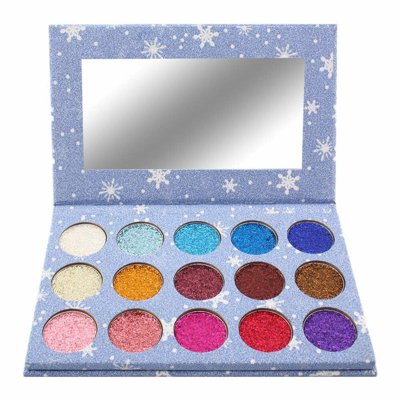15 Color Glitter Palette Mix 2