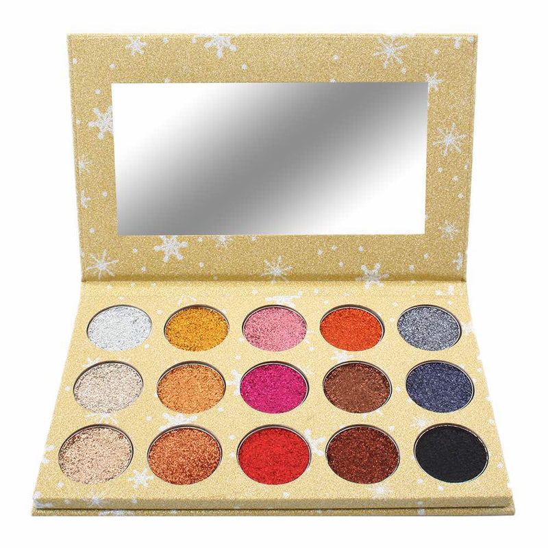15 Color Glitter Palette Mix 1