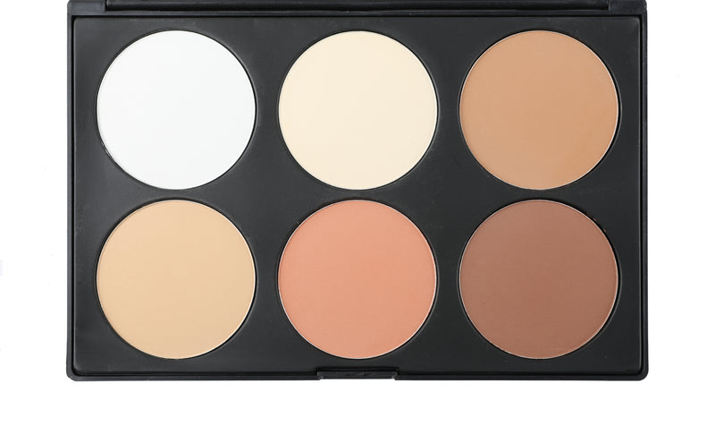 6 Color Contour Powder Palette