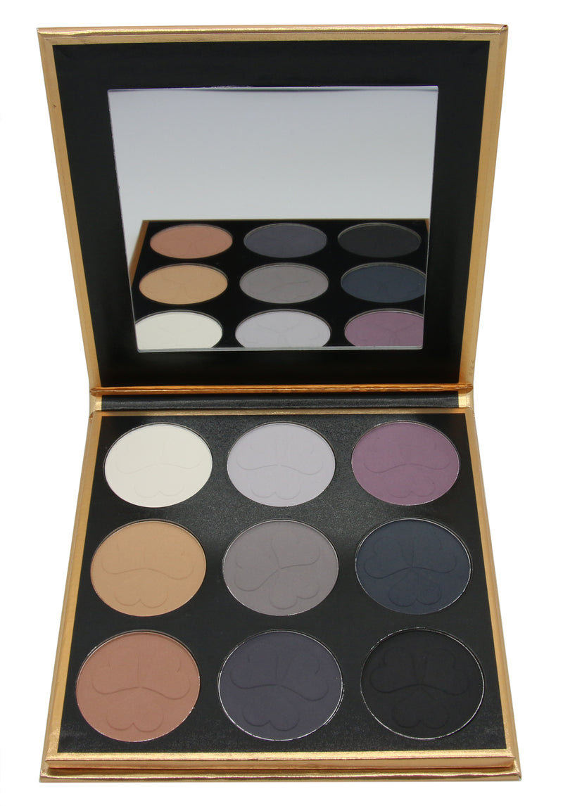 9 Color Eyeshadow Palette Mix 1