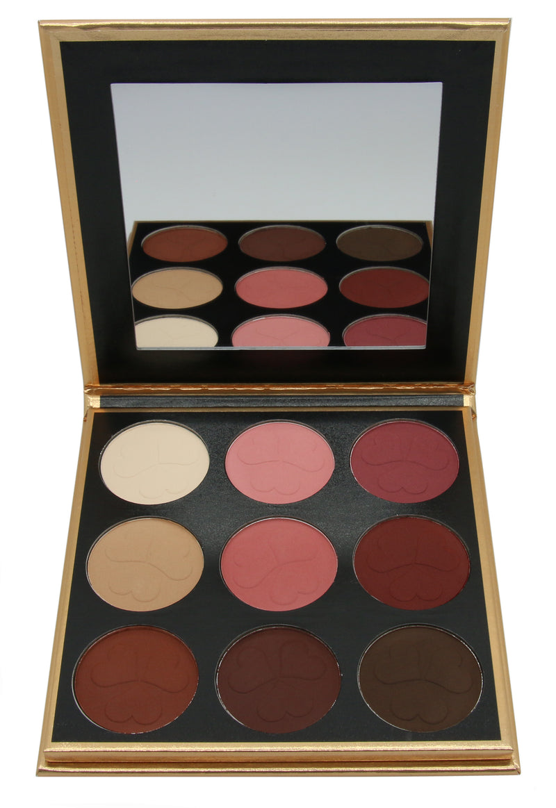 9 Color Eyeshadow Palette Mix 2
