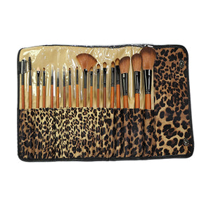 Brush set leopard 18 brushes