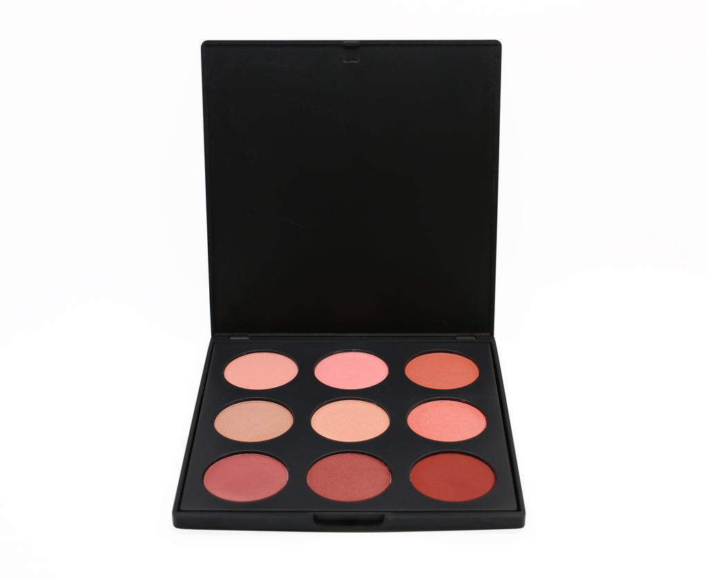 9 Color Blush Palette