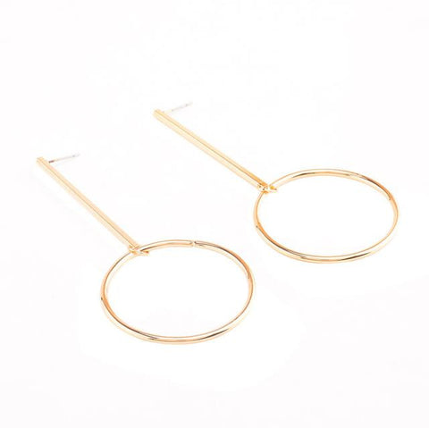 Women Retro Hoop Earrings