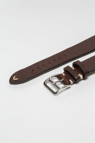 Chocolate Brown Vintage Style Strap