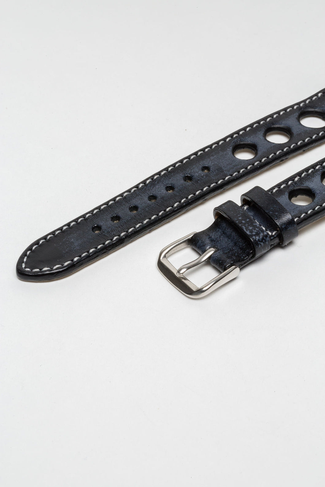 Chicane Grey Big Holes Rally Strap