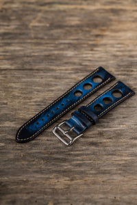 Denim Blue Big Holes Rally Strap