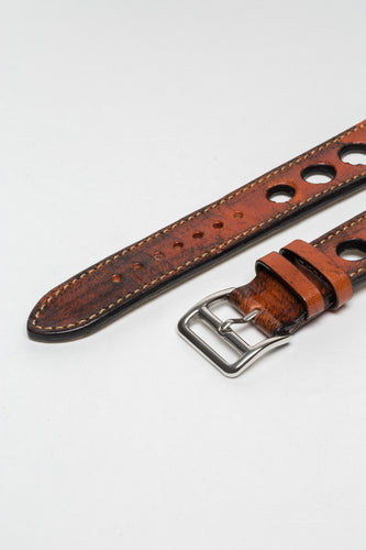 Terracota Brown Big Holes Rally Strap