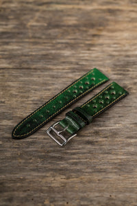 Aged Racing Green Rally Strap
