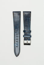 Aged Denim Blue Classic Cut Strap