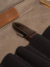 Watch Strap case in Caramel Brown Leather