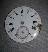 Enamel or painted dial restoration
