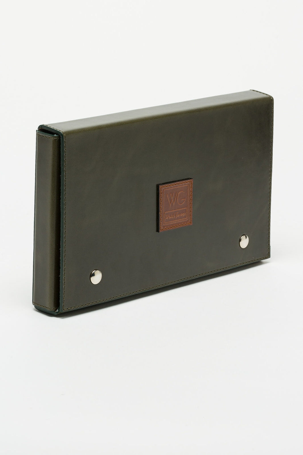 WG Xclusiv Royal Green Leather Case