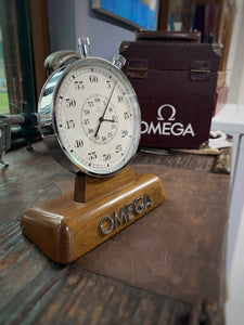 Omega Stopwatch - Display for retailers with original case