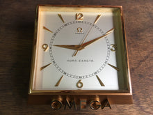 Omega Hora Exata 8 Days retailer store table clock