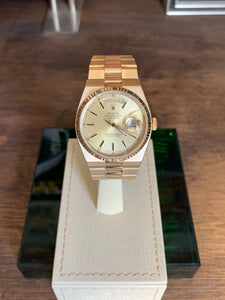 Rolex Day-Date President Oysterquartz ref. 19000 18K Yellow Gold