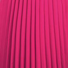 Load image into Gallery viewer, Jolie Moi Pleated Crepe Maxi Skirt, Magenta