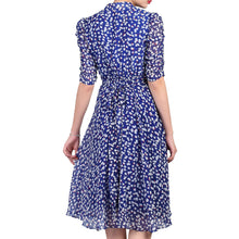 Load image into Gallery viewer, Jolie Moi Retro Tea Dress, Multi