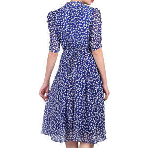 Jolie Moi Retro Tea Dress, Multi