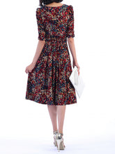 Load image into Gallery viewer, Jolie Moi Abstract Jersey Dress, Multi