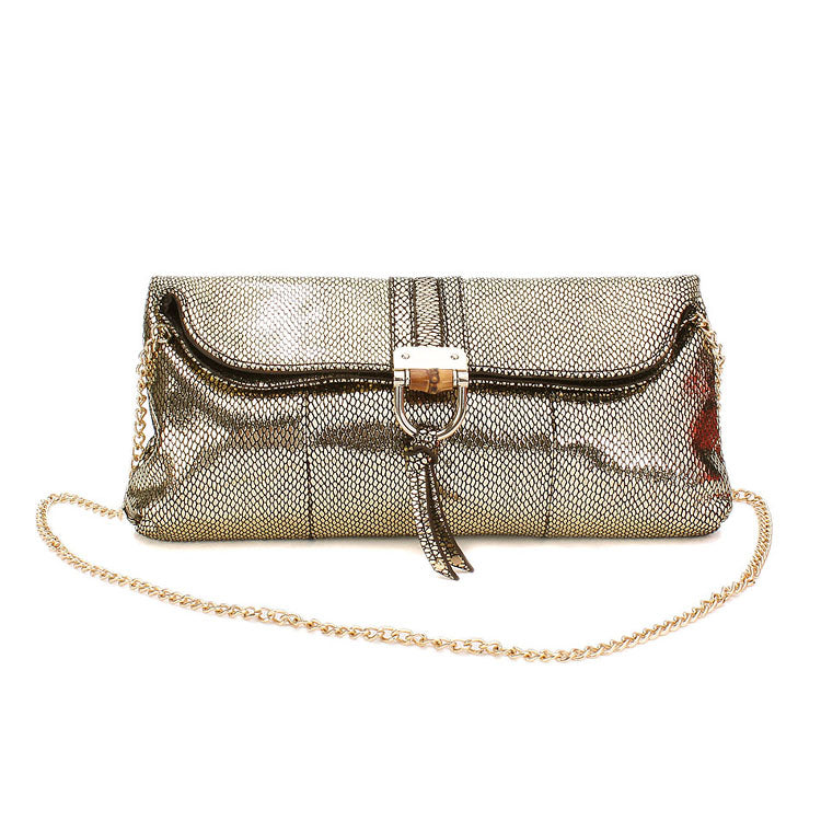 Jolie Moi Z-013 Leather Clutch Bag