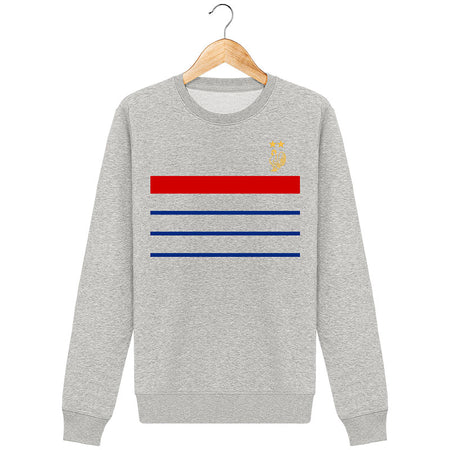Sweat Col Rond Unisex - FRANCE 2018 2ème étoile (non-officiel)