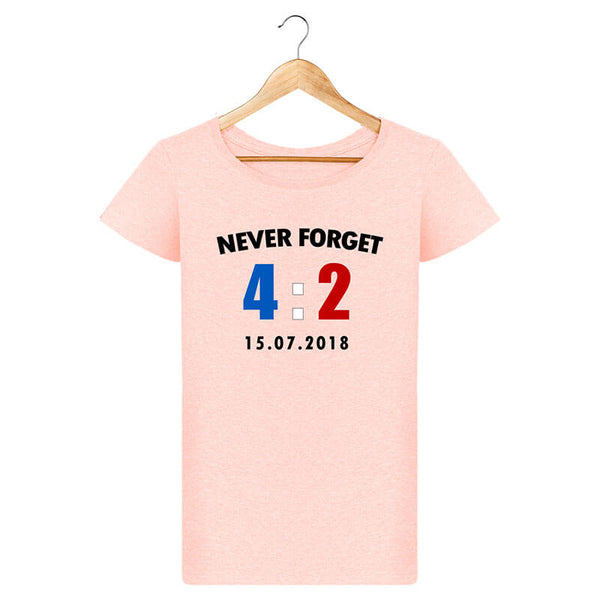 T-shirt Femme - Never Forget 15.07.2018