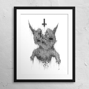 """Christening the Afterbirth"" Print"
