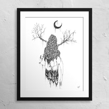 "Load image into Gallery viewer, ""Crystallized Burka"" Print"