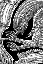 "Load image into Gallery viewer, ""Xenomorphic"" - LUCAS RUGGIERI 11 x 14"" print"
