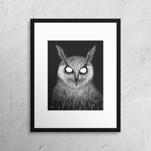 "Load image into Gallery viewer, ""The Owls are Not What They Seem"" Print"